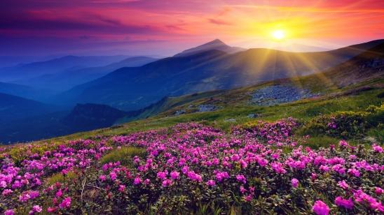 Sun-Shining-Over-Hills